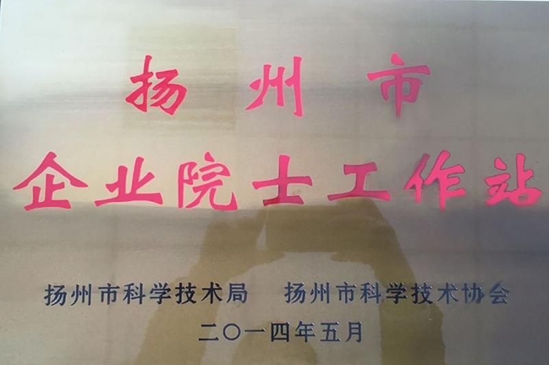 扬州市企业院士工作站
