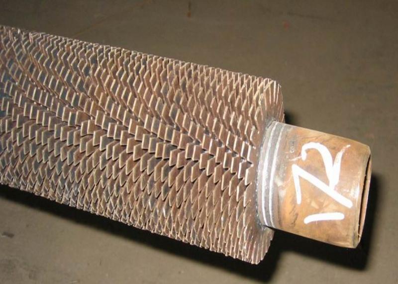 开齿型高频焊接螺旋翅片管